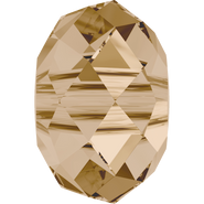 Swarovski Bead 5041 - 18mm, Crystal Golden Shadow (001 GSHA), 1pcs