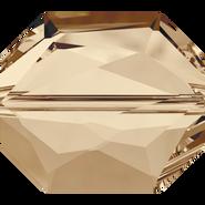 Swarovski 5520 - 18mm, Crystal Golden Shadow (001 GSHA), 1pcs