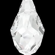 Swarovski Pendant 6007 - 7x4mm, Crystal (001), 6pcs