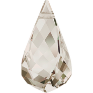 Swarovski Pendant 6020 - 18mm, Crystal Silver Shade (001 SSHA), 2pcs