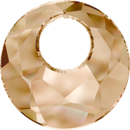 Swarovski Pendant 6041 - 28mm, Crystal Golden Shadow (001 GSHA), 1pcs