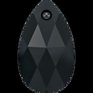 Swarovski Pendant 6106 - 28mm, Jet (280), 1pcs