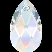 Swarovski Pendant 6106 - 28mm, Crystal Aurore Boreale (001 AB), 1pcs