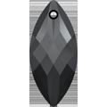 Swarovski Pendant 6110 - 30X14mm, Jet (280), 1pcs