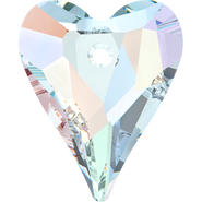 Swarovski Pendant 6240 - 12mm, Crystal Aurore Boreale (001 AB), 4pcs