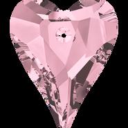 Swarovski Pendant 6240 - 27mm, Crystal Antique Pink (001 ANTP), 1pcs