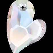 Swarovski Pendant 6261 - 27mm, Crystal Aurore Boreale (001 AB), 1pcs
