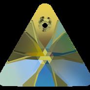 Swarovski Pendant 6628 - 16mm, Crystal Iridescent Green (001 IRIG), 1pcs