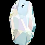 Swarovski Pendant 6673 - 28mm, Crystal Aurore Boreale (001 AB), 1pcs