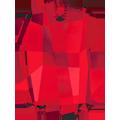 Swarovski Pendant 6685 - 19mm, Light Siam (227), 1pcs