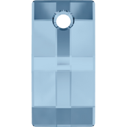 Swarovski Pendant 6696 - 30mm, Denim Blue (266), 1pcs