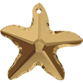 Swarovski Pendant 6721 - 20mm, Crystal Bronze Shade (001 BRSH), 1pcs
