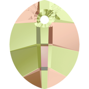 Swarovski Pendant 6734 - 23mm, Crystal Luminous Green (001 LUMG), 1pcs