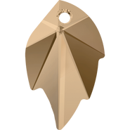 Swarovski Pendant 6735 - 26x16mm, Crystal Golden Shadow (001 GSHA), 1pcs