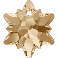 Swarovski Pendant 6748 - 28mm, Crystal Golden Shadow (001 GSHA), 1pcs