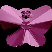Swarovski Pendant 6754 - 18mm, Fuchsia (502), 1pcs