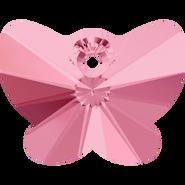 Swarovski Pendant 6754 - 18mm, Light Rose (223), 1pcs