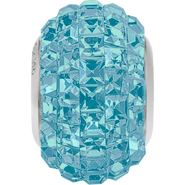Swarovski Becharmed 180201# 14m Aquamarine, (1pcs)