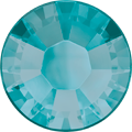Swarovski Hotfix 2038 - ss8, Blue Zircon Satin (229 SAT Advanced), Hotfix, 1440pcs