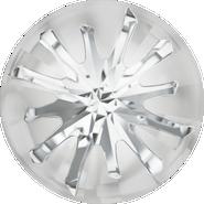 Swarovski Round Stone 1695 - 10mm, Crystal (001) Foiled, 72pcs