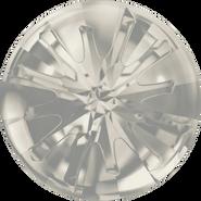 Swarovski Round Stone 1695 - 10mm, Crystal Silver Shade (001 SSHA) Foiled, 72pcs