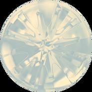 Swarovski Round Stone 1695 - 10mm, White Opal (234) Foiled, 72pcs