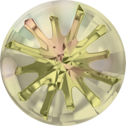 Swarovski Round Stone 1695 - 14mm, Crystal Luminous Green (001 LUMG) Foiled, 36pcs