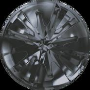 Swarovski Round Stone 1695 - 14mm, Crystal Silver Night (001 SINI) Unfoiled, 36pcs