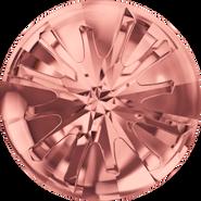 Swarovski Round Stone 1695 - 14mm, Blush Rose (257) Foiled, 36pcs