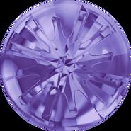 Swarovski Round Stone 1695 - 14mm, Tanzanite (539) Foiled, 36pcs