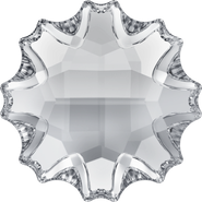 Swarovski Flatback 2612 - 10mm, Crystal (001) Foiled, No Hotfix, 48pcs