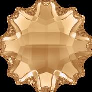 Swarovski Flatback 2612 - 10mm, Crystal Golden Shadow (001 GSHA) Foiled, No Hotfix, 48pcs