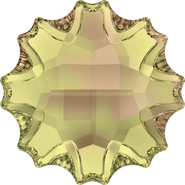 Swarovski Flatback 2612 - 10mm, Crystal Luminous Green (001 LUMG) Foiled, No Hotfix, 48pcs