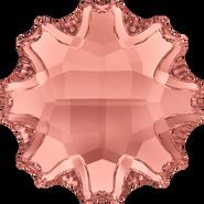 Swarovski Flatback 2612 - 10mm, Blush Rose (257) Foiled, No Hotfix, 48pcs