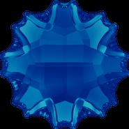 Swarovski Flatback 2612 - 14mm, Crystal Bermuda Blue (001 BBL) Foiled, No Hotfix, 36pcs