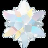Swarovski Flatback 2753 - 10mm, Crystal Aurore Boreale (001 AB) Foiled, No Hotfix, 72pcs