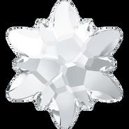 Swarovski Flatback 2753 - 10mm, Crystal (001) Foiled, No Hotfix, 72pcs