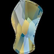 Swarovski Flatback 2798 - 8mm, Crystal Iridescent Green (001 IRIG) Foiled, 360pcs