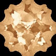 Swarovski Fancy Stone 4195 - 14mm, Crystal Golden Shadow (001 GSHA) Foiled, 24pcs