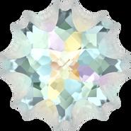 Swarovski Fancy Stone 4195 - 18mm, Crystal Aurore Boreale (001 AB) Foiled, 15pcs