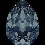 Swarovski Fancy Stone 4320 - 8x6mm, Graphite (253) Foiled, 180pcs