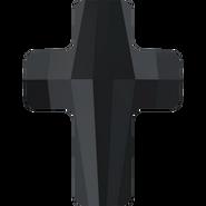 Swarovski Bead 5378 - 18mm, Jet (280), 48pcs