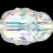 Swarovski Bead 5728 - 12mm, Crystal Aurore Boreale (001 AB), 96pcs