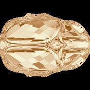 Swarovski Bead 5728 - 12mm, Crystal Golden Shadow (001 GSHA), 96pcs