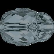 Swarovski Bead 5728 - 12mm, Crystal Silver Night (001 SINI), 96pcs