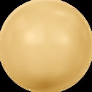 Swarovski Crystal Pearl 5811 - 10mm, Crystal Gold Pearl (001 296), 100pcs