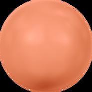Swarovski Crystal Pearl 5811 - 10mm, Crystal Coral Pearl (001 816), 100pcs
