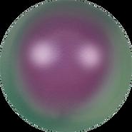 Swarovski Crystal Pearl 5811 - 10mm, Crystal Iridescent Purple Pearl (001 943), 100pcs