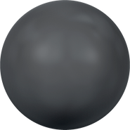 Swarovski Crystal Pearl 5811 - 12mm, Crystal Black Pearl (001 298), 100pcs