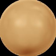 Swarovski Crystal Pearl 5811 - 12mm, Crystal Bright Gold Pearl (001 306), 100pcs